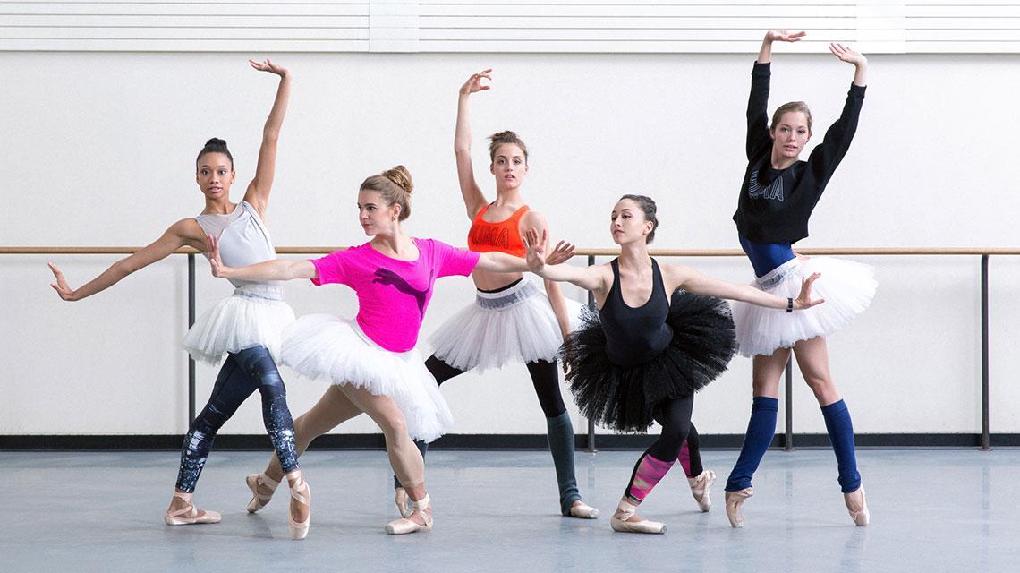 Ballet Dancers are Athletes - PUMA CATch up