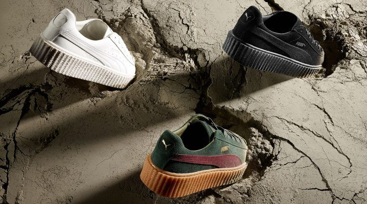 Fenty Puma x Rihanna Women's Creeper Platform Sneakers