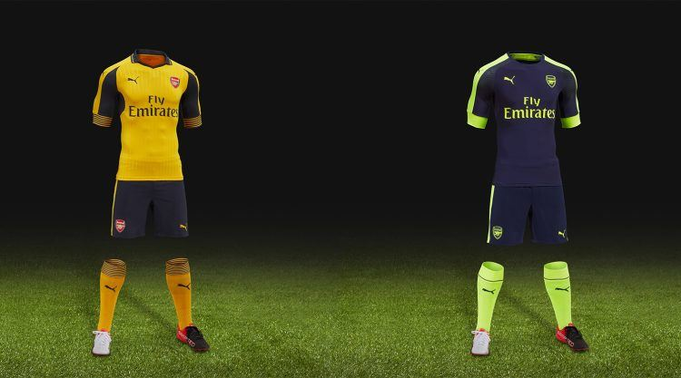 sports shoes 51d69 a3cc2 Arsenal Kit Reveal - Hollywood Style - PUMA CATch up