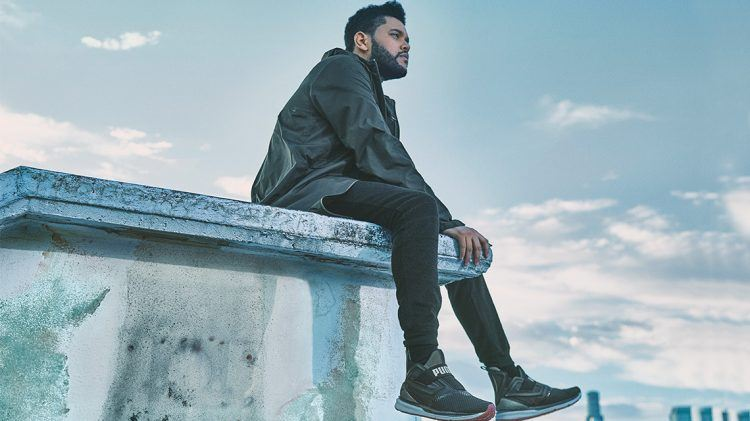 puma limitless ignite the weeknd