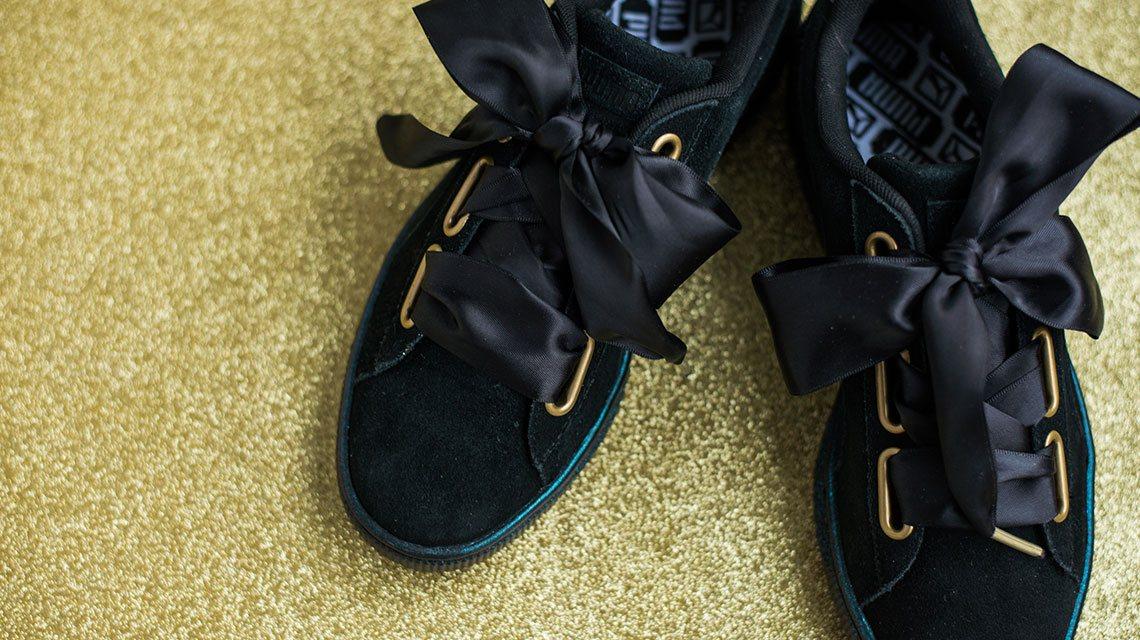 Puma Suède Heart Reset sneaker x Cara Delevingne   Cara