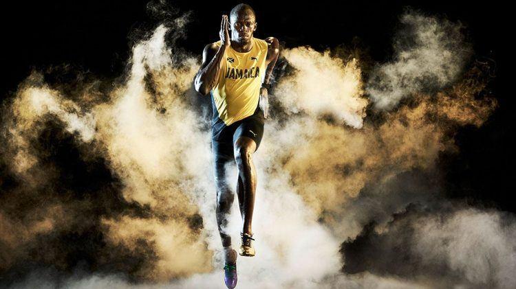 0399e40778e Legendary Usain Bolt races into Retirement - PUMA CATch up