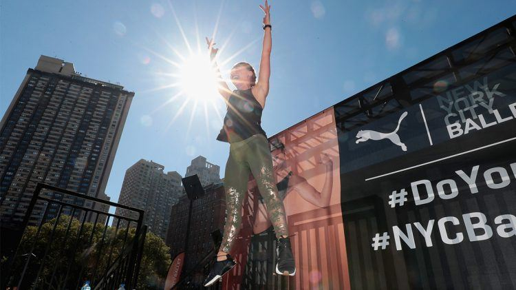 Mixing Dance and HIIT with PUMA x NYCB
