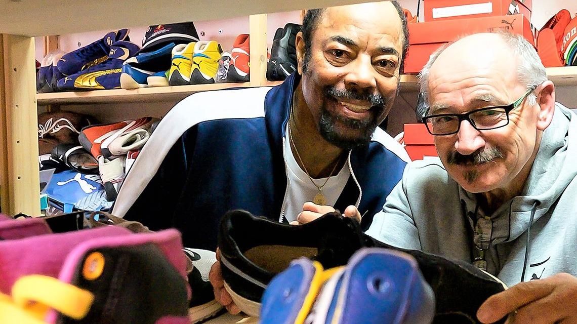Basketball legend and Fashion Icon Walt
