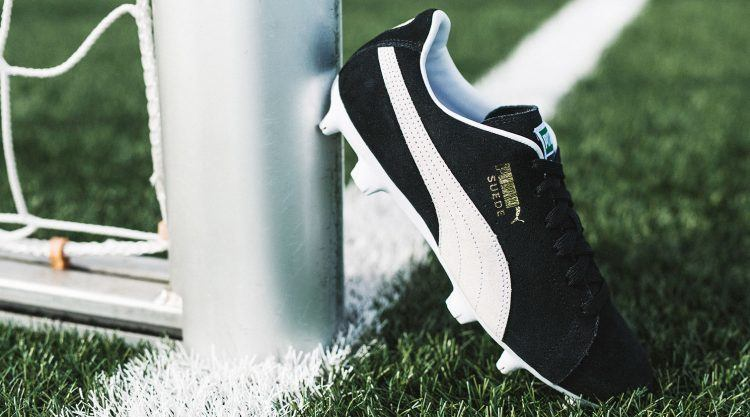 7d91585a3 Make sure to be a part of the unique generation that goes back to the roots  with the Suede bringing it to the football pitch!