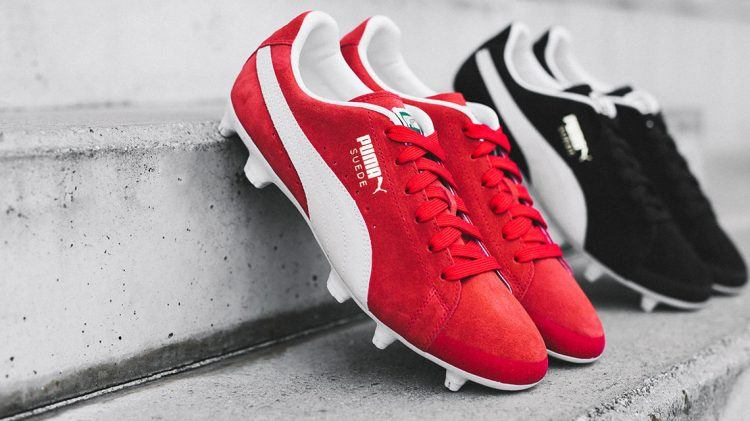 af43c03035c5 The Suede conquers the Pitch - PUMA CATch up