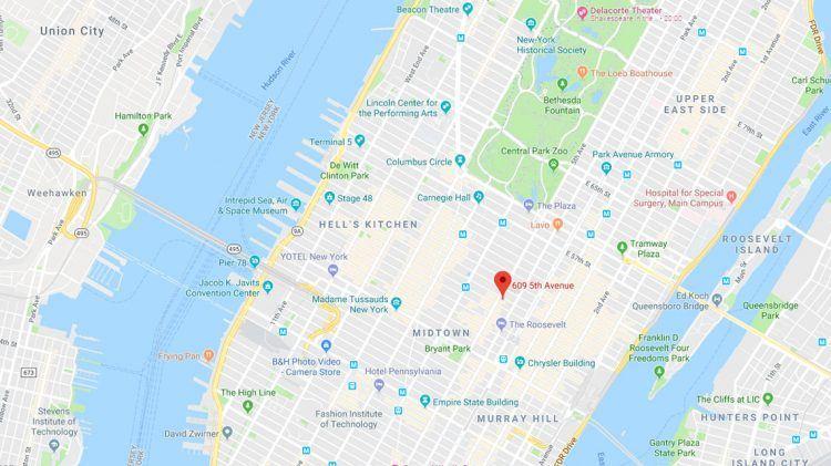 A PUMA on 5th Avenue - PUMA CATch up  Th Avenue Shopping Map on