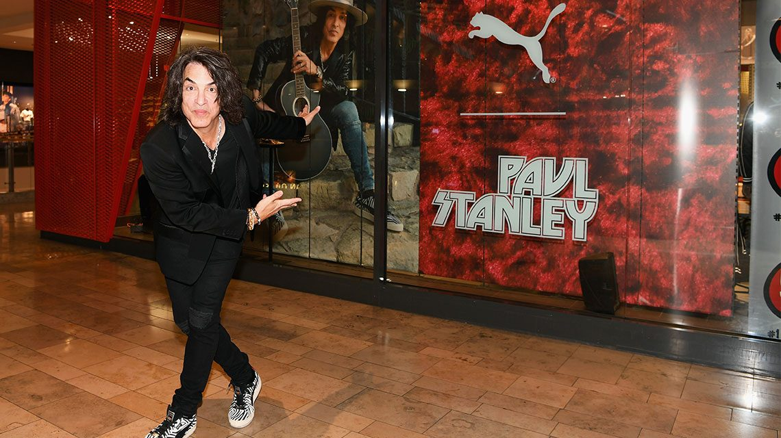 KISS Frontman Paul Stanley launches his iconic Suede PUMA