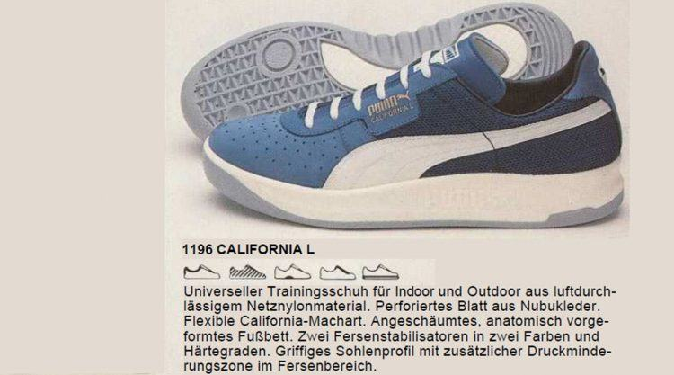 The story behind the PUMA California