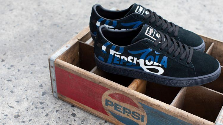 9d33d6151 PUMA teams up with Pepsi to celebrate the Suede - PUMA CATch up