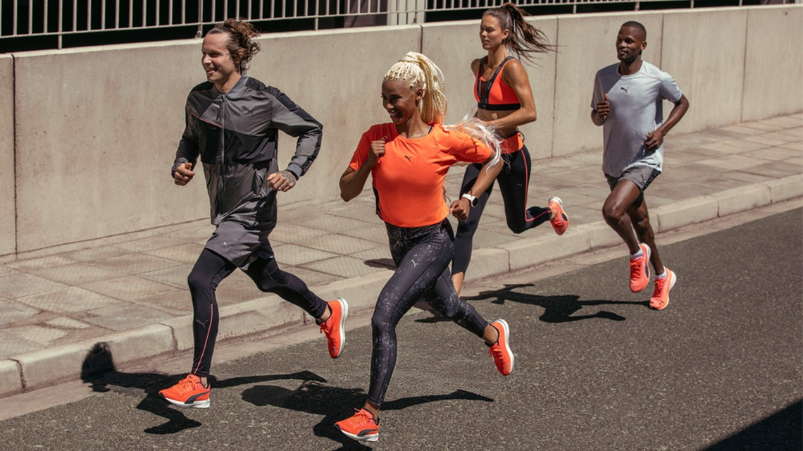 PUMA launches new line of running products - PUMA CATch up