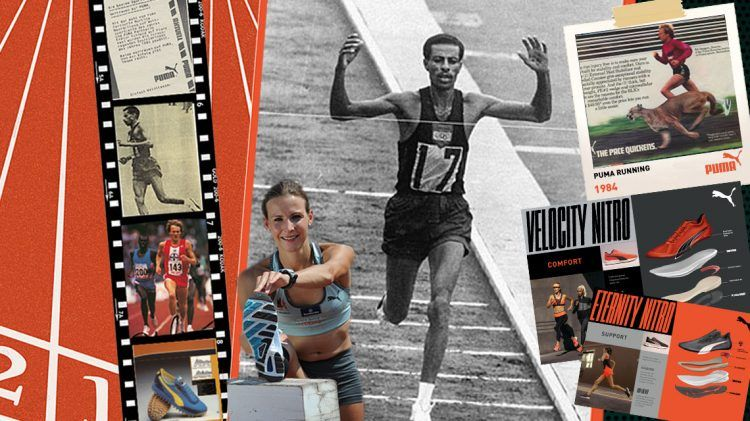 Archive Stories: PUMA's long history in Running - PUMA CATch up