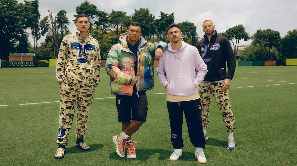 KIDSUPER BRINGS CREATIVITY TO NEW LEVELS IN LATEST PUMA COLLECTION ...